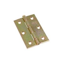 Dobradiça Ferro Bicromatizado 2.1/2 64X41mm Cartela 3 Peças [ 11103 ] - Gubler