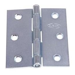 Dobradiça Ferro Zincado 2 Cartela 3 Peças [ 11002 ] - Gubler