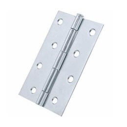 Dobradiça Ferro Zincado 4 99X66 [ 10702 ] - Gubler