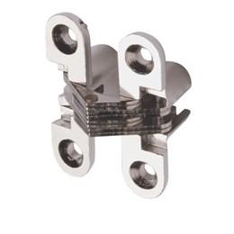 Dobradiça Invisível Cromada 62 X 15 mm [ F0050CR ] - Hardt