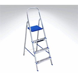 Escada Alumínio de Abrir 04 Degraus 1.41 Er4 [ 900948 ] - Alumasa
