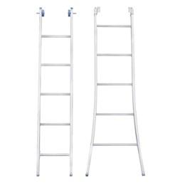 Escada Alumínio de Abrir e Extensiva 05 Degraus  [ EEA5 ] - Alumasa