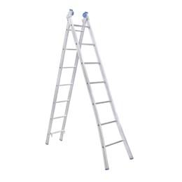 Escada Alumínio de Abrir e Extensiva 07 Degraus  [ EEA7 ] - Alumasa