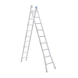 Escada Alumínio de Abrir e Extensiva 09 Degraus  [ EEA9 ] - Alumasa