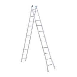 Escada Alumínio de Abrir e Extensiva 11 Degraus  [ EEA11 ] - Alumasa