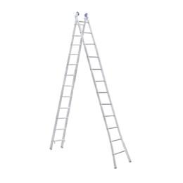 Escada Alumínio de Abrir e Extensiva 12 Degraus  [ EEA12 ] - Alumasa