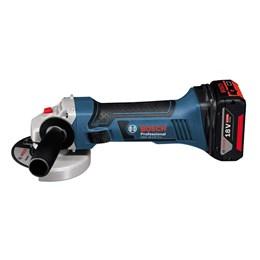 Esmerilhadeira 4.1/2  18.0V RPM 10.000 LI sem Bateria  [  GWS 18-125 V-LI ] - Bosch
