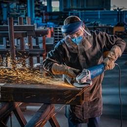 """Esmerilhadeira 9"""" 2200 W Rpm 6500 Gws2200-230 (220V) - Bosch"""