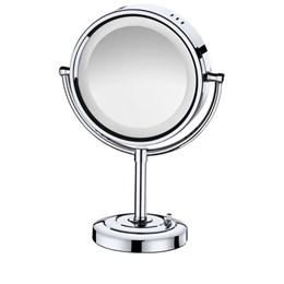 Espelho Mesa c/ Led Latão Crom [ 21286 ] - Italyline