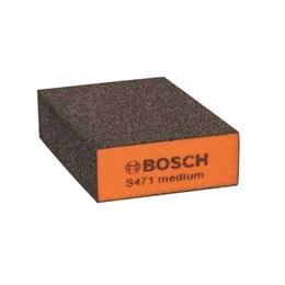 Esponja Abrasiva Grão Médio [ 2608608225 ] - Bosch