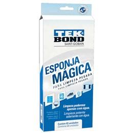 Esponja Mágica Multiuso Limpeza Pesada 3 Peças [ 24361000302 ] - Tek Bond