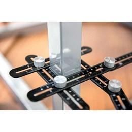 Esquadro 24mm Alumínio Ajustável [ 35.50.012.006 ] - Vonder