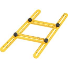 Esquadro 25mm Plástico Ajustável [ 3550555000 ] - Vonder