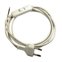 Extensão com Interruptor 1.20M X 80cm Branco Lucchi [ 4867 ] - Farol