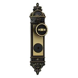 Fechadura Externa Tetra Espelho Colonial [ 1500/06 ] - Stam