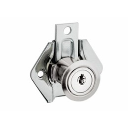 Fechadura para Gaveta  22 mm Niquelado 301 [ 13090 (301) ] - Stam