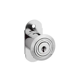 Fechadura Porta Janela Correr 26mm Niquelado  com Prolongador 314 [ 14068 (314) ] - Stam