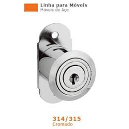 Fechadura Porta/Janela Correr 30mm Niquelado (315) - Stam