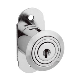 Fechadura Porta/Janela Correr 30mm Niquelado com Prolongador 315 [ 14075 (315) ] - Stam