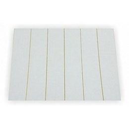 Feltro Branco Adesivo Retangular 500X20X2mm com 6 Tiras 272 [ 2123 ] - Vbf Feltros