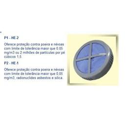 Filtro Base Tampa p/Respirador Pff1  [ CBTF-P1 ] - Alltec
