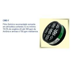 Filtro p/Respirador Amônia [ CMD1 ] - Alltec