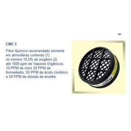 Filtro p/Respirador Vapores/Gases [ CMC-1 ] - Alltec