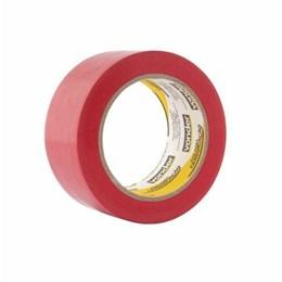Fita Adesiva Demarcação Vermelha 48mm X 30M [ 1065504391 ] - Vonder