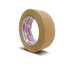 Fita Embalagem Papel  50 X 50 Kraft Crepado Marrom [ 417 ] - Adere