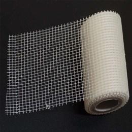 Fita Fibra de Vidro para Fita Elétrica Autoadesiva 100mm X 5M [ TFV-100MM/5M ] - Eletrofitas