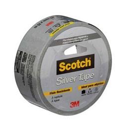 Fita Silver Tape - 45mm X 25 M Cinza [ H0002317818 ] - 3M