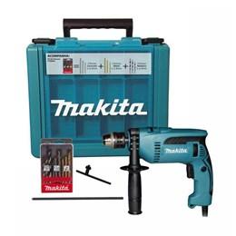 Furadeira 1/2 760W Impacto C/Maleta e Kit 9 Peças HP1640KX1 220V Makita