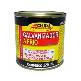 Galvanizador a Frio Cinza Fosco 220 Ml [ 243 ] - Allchem