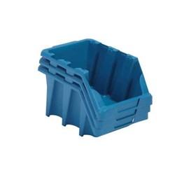 Gaveteiro Plástico Azul N. 7 ( Empilhável ) [ 6093A ] - Presto