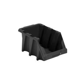 Gaveteiro Plástico Preto N. 7 ( Empilhável ) [ N.7 PRETO ] - Presto