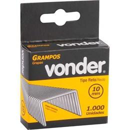 Grampo Grampeador 10 mm Cartela com 1000 Unidades [ 2898410012 ] - Vonder