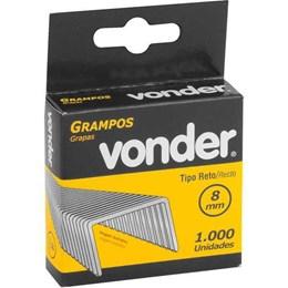 Grampo Grampeador 8 mm Cartela com 1000 Unidades [ 2898408012 ] - Vonder