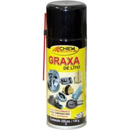 Graxa Lítio Spray 200 Ml [ 693 ] - Allchem