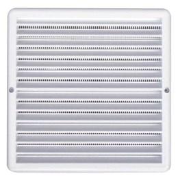Grelha de Ventilação Quadrado Branco 20X20cm [ GQ2020 ] - Itc