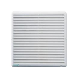 Grelha de Ventilação Quadrado Branco 25X25cm [ 92001016 ] - Ventokit