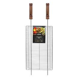 Grelha Inox Para Legumes Vertical 30x50cm [ GR0048 ] - Grilazer