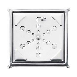Grelha Inox Quadrada com Fecho e Caixa 100MM [ PR7413 ] - Primafer
