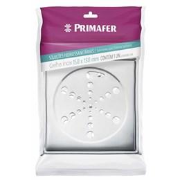 Grelha Inox Quadrada com Fecho e Caixa 150MM [ PR7411 ] - Primafer