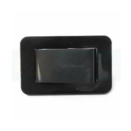 Interruptor para Móveis Paralelo Preto 10A [ 15000066 ] - Lumitek