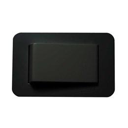 Interruptor para Móveis Pulsador Preto 10A [ 00010.99422240  ] - Lumitek