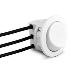 Interruptor Soldado para Móveis Paralelo Branco [ ICG1SP ] - Led Line