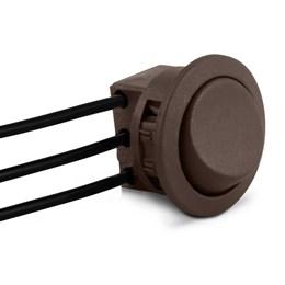 Interruptor Soldado para Móveis Paralelo Marrom [ ICG1SP ] - Led Line