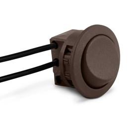 Interruptor Soldado para Móveis Simples Marrom [ ICG4S ] - Led Line