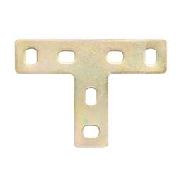 Junção - Placa em T 1,6 X 7 cm [ 894 ] - Minubras