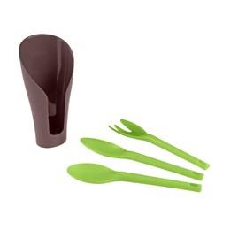 Kit 04 Peças Cocoon Plástica [ 78107/809 ] - Tramontina Multi